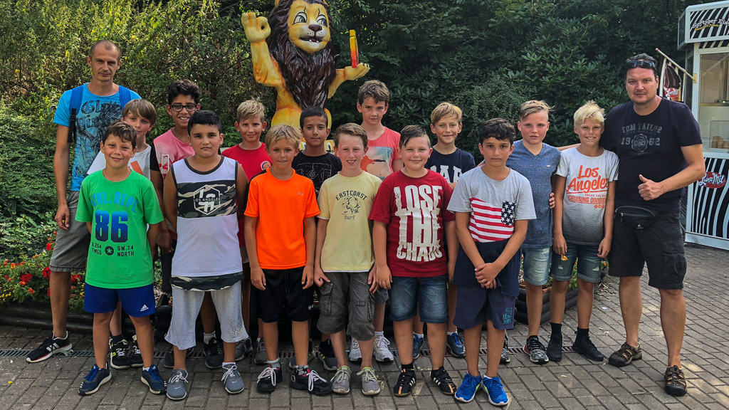 U12 Teamevent Serengeti-Park